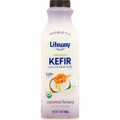 Lifeway Kefir, Organic, Coconut Honey, 3.25% Milkfat