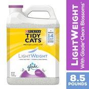 Purina Tidy Cats Low Dust LightWeight Cat Litter, LightWeight Glade Clean Blossoms Multi Cat Litter