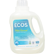 ECOS Laundry Detergent, Plant Powered, Free & Clear