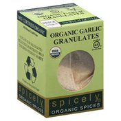 Spicely Organics Garlic, Granulates, Organic