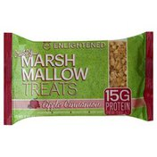 Enlightened Treats, Crispy Marshmallow, Apple Cinnamon