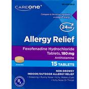 CareOne Allergy Relief Fexofenadine Tablets 180 mg