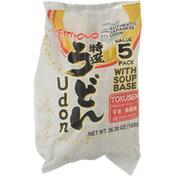 Myojo Udon, Value 5 Pack