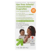 Up&Up Ibuprofen Oral Suspension, Concentrated, Dye Free Infants', Concentrated Drops, Berry Flavor, Value Pack