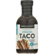 Urban Accents Simmer Sauce, Korean BBQ, Mild, Taco