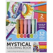 Anker Art Coloring Book Set, Mystical