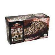 Cascade Gourmet Foods Double Grilled Beef Patties