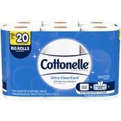 Cottonelle Ultra CleanCare Big Roll Toilet Paper Bath Tissue