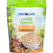 Food Lion Granola, Lowfat, Oat & Honey