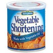 Springfield Made W/ Vegetable Oil Vegetable Shortening