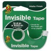 Duck Tape, Invisible, Matte Finish