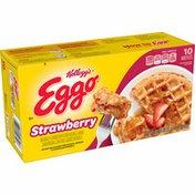 Eggo Frozen Waffles, Frozen Breakfast, Strawberry
