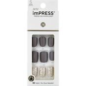 imPRESS Nails, Short Length, Flawless