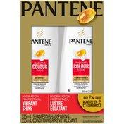 Pantene Color Preserve Shine Pantene Pro-V Radiant Colour Shine Shampoo and Conditioner Dual Pack, 730 mL  Hair Care