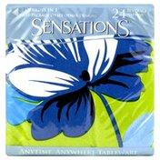 Sensations Beverage Napkins, 2-Ply, Beautiful