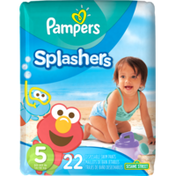 Pampers Splashwear Pampers Splashers Swim Diapers Size 5 22 count  Diapers