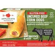 Applegate Gluten Free Uncured Beef Corn Dogs