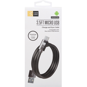 Case Logic Charge And Sync Cable, Micro USB, Premium, 3.5 Feet