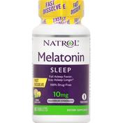 Natrol Melatonin, Maximum Strength, 10 mg, Tablets, Citrus