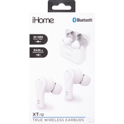 iHome True Wireless Earbuds, XT-12