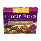 Sukhi's Spinach Pakoras Indian Bites
