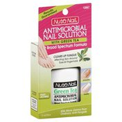 Nutra Nail Nail Solution, Antimicrobial, With Green Tea, Broad Spectrum Formula