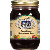 Amish Wedding Jam, Blackberry, Seedless