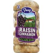 Franz English Muffins, Raisin Cinnamon, Double