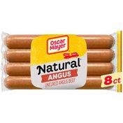 Oscar Mayer Bun Lengths Angus Beef Franks