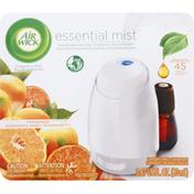 Air Wick Fragrance Mist Diffuser, Mandarin & Sweet Tangerine