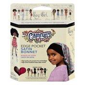 Camryns Bff Bonnet, Satin, Edge Pocket