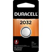 Duracell Battery, Lithium, 2032