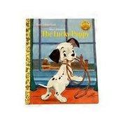 Golden & Disney Walt Disney's The Lucky Puppy Little Golden Book Hardcover