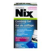 Nix (CN) Nix Combing Gel & Lice Removal Comb, Nix Gel De Coffage Et Peigne Pour éliminer Les Poux
