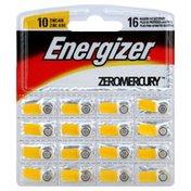 Energizer Batteries, Zinc-Air, Hearing Aid, 10