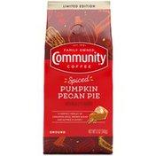 Community Coffee Spiced Pumpkin Pecan Pie
