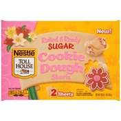 Toll House Spring Sugar Cookie Sheets Cookie Dough