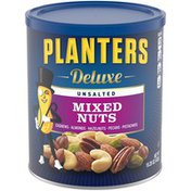 Planters Deluxe Unsalted Mixed Nuts