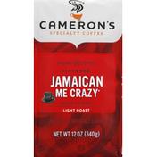 Camerons Coffee, Ground, Light Roast, Jamaican Me Crazy