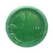 """First Street Artstyle Emeral Green Paper Plates, 6.75"""""""