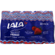 LALA Wild Strawberry Yogurt Smoothies with Probiotics