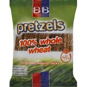 Bb Pretzels Whole Wheat