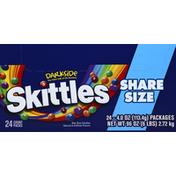Skittles Candy, Darkside, Bite Size, Share Size
