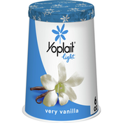 Yoplait Light Yogurt, Very Vanilla, Fat Free Yogurt