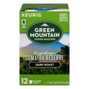 Green Mountain Coffee K-Cup Pods Dark Roast Coffee Sumatra Reserve