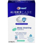 Crest Aligner Care Deep Cleaning Anti-Bacterial Tablets For , Retainers