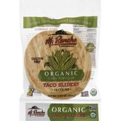 Mi Rancho Corn Tortillas, Organic, Taco Sliders