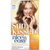 Clairol Nice 'n Easy, 6.5GN Light Golden Sunset Brown, Permanent Hair Color, 1 Kit Female Hair Color