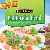 Best Choice Frozen California Blend Vegetable
