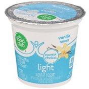 Food Club Vanilla Light Nonfat Yogurt
